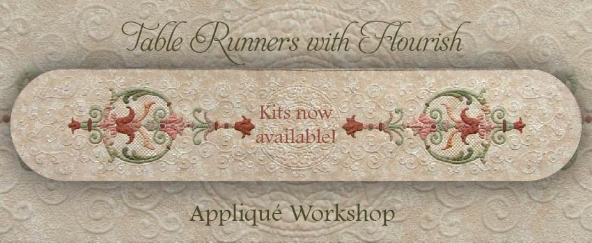 Table Runners with Flourish Workshop