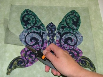 Snippet Butterfly with tulle