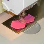Sewing Hexagon Pairs by Machine