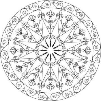 Wrought Iron Circle