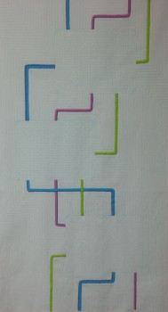 Applique Stripes