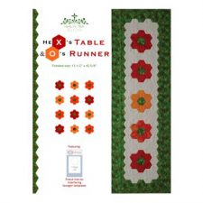 Hex's & O's Table Runner Pattern