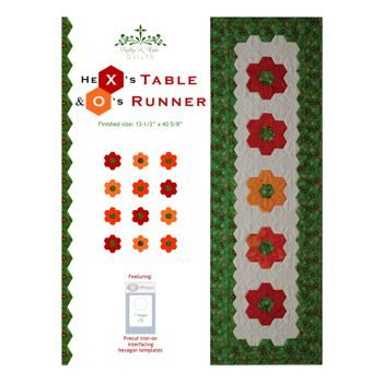 Hex's and O's Table Runner