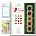 Hex's and O's Table Runner Pattern Combo