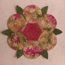 How to Sew a Hexie Flower
