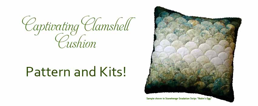 Captivating Clamshell Cushion