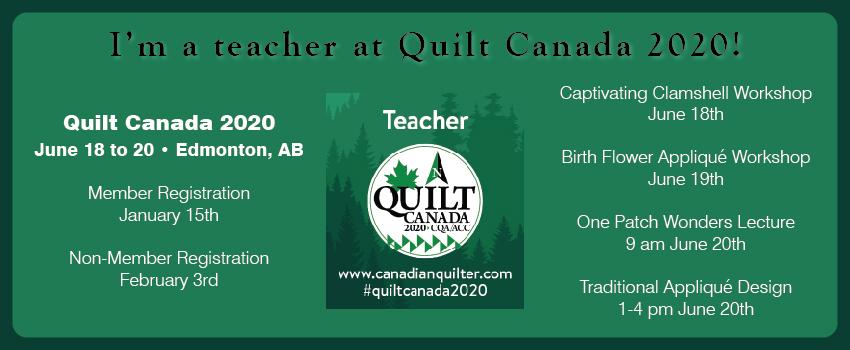 Quilt Canada 2020