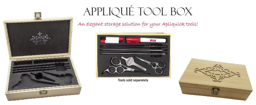 Appliqué Tool Box